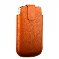Terra Leather Collection for iPhone 3G/3GS/4 Orange